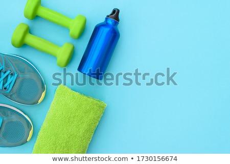 Fitness equipment for workout Stock photo © karandaev