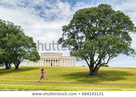 Auckland city Domain park famous tourist attraction in New Zealand. Travel destination. Stock photo © Maridav