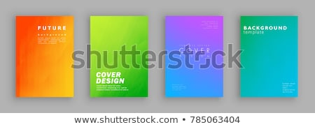 blank green book Stock photo © restyler
