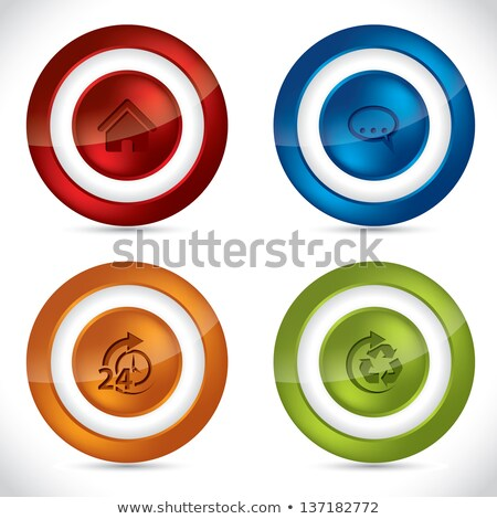 various colorful abstract icons set 24 stock photo © cidepix