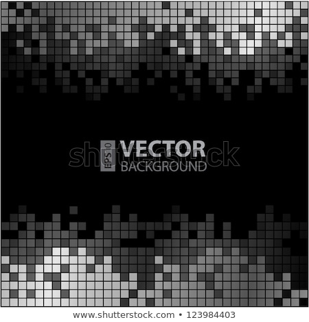 Abstract Background - Grayscale Equalizer Stock photo © jamdesign
