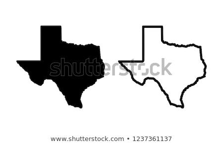テキサス州 フラグ 古い 木製 傷 星 ストックフォト © drizzd
