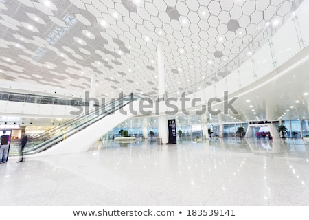 modern shopping mall interior stock photo © photocreo