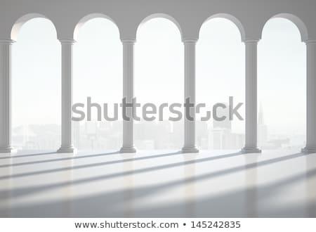 3d antique classical architecture roman monument render  Stock photo © Melvin07