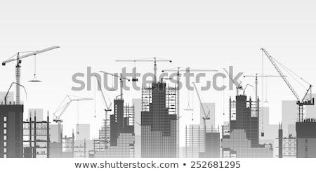 10 Bina inşaat duvar ev Stok fotoğraf © LianeM