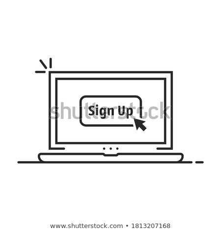 Thin Laptop Abstract Stock photo © azamshah72