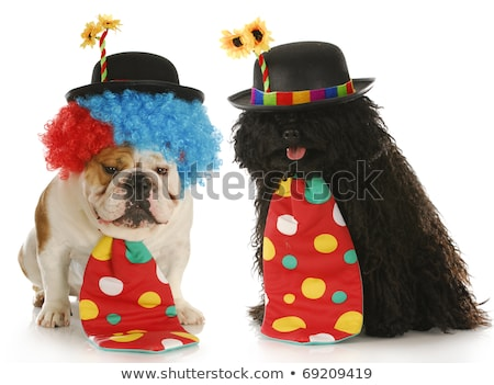 Foto stock: Couple Dressed Up For Halloween