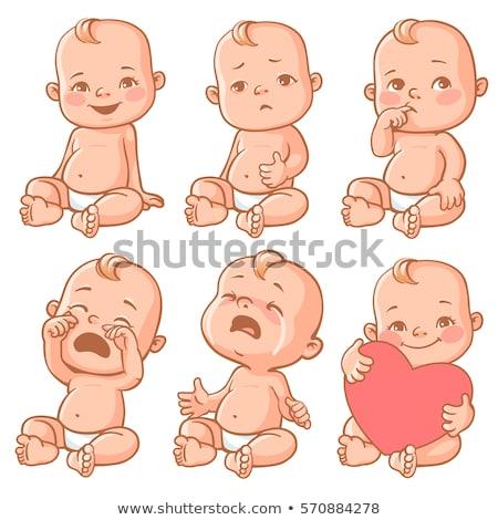 面白い · 赤ちゃん · ベクトル · 創造 · 芸術 - ストックフォト © indiwarm