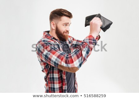 businessman looking at his empty wallet stock photo © photography33