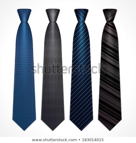 tie set vector illustration stock photo © vankad