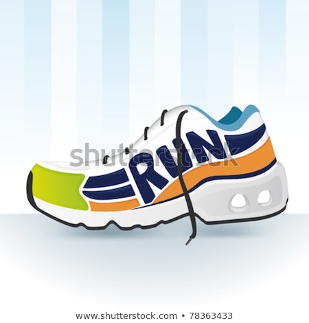 Running shoes traction soles Stock photo © Maridav