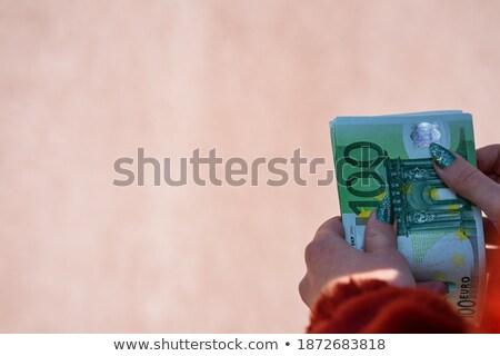 Englisch · Währung · Business · Finanzierung · Versicherung - stock foto © jayfish