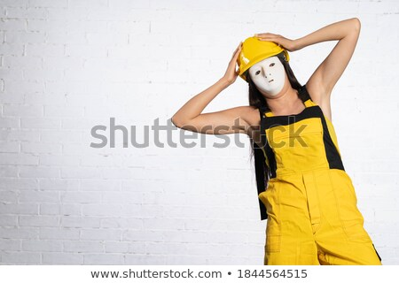 Construction worker holding his head in horror Stock photo © photography33