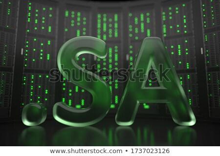 インターネット ドメイン サウジアラビア ストックフォト © perysty