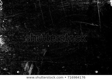 Kahverengi grunge çerçeve toprak siyah mürekkep Stok fotoğraf © grivet
