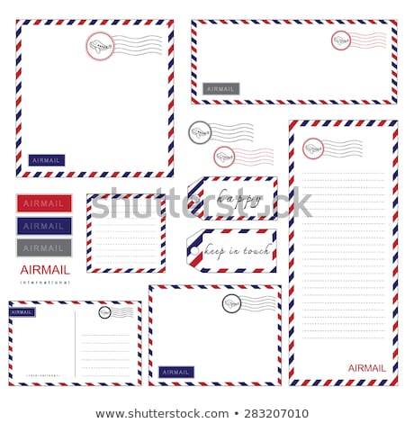ar · e-mail · envelope · isolado · branco · escritório - foto stock © shutswis