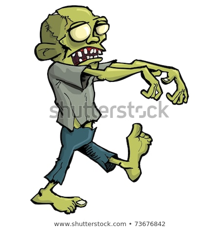 Lurching Zombie Stock photo © AlienCat
