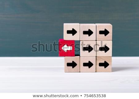 pensar · cambio · palabras · pizarra · resumen · luz - foto stock © Ansonstock