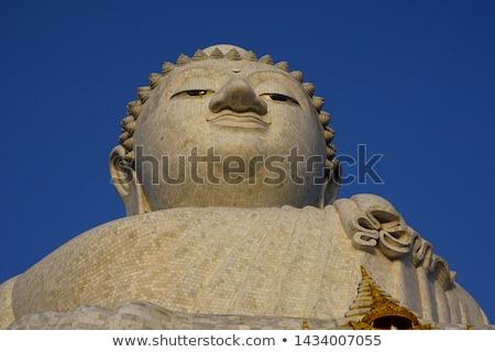 Будду портрет сувенир Таиланд песчаник улыбка Сток-фото © bbbar
