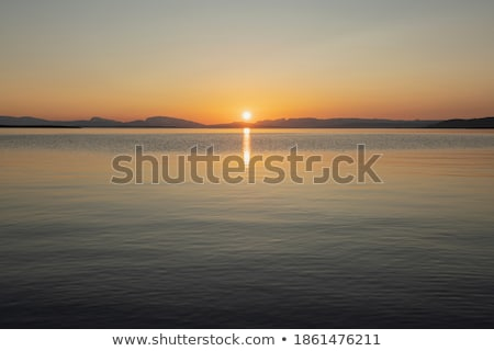Summer evening over the wilderness of Lapland. stock photo © Klodien