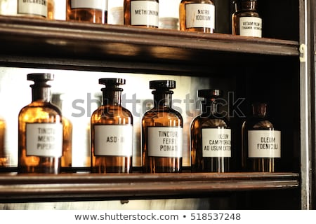 vintage pharmacys bottles Stock photo © RedDaxLuma