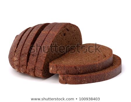 dieet- · brood · geïsoleerd · witte · voedsel · achtergrond - stockfoto © mallivan