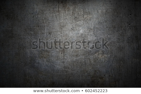 Black grunge metal plate as background Stock photo © stevanovicigor
