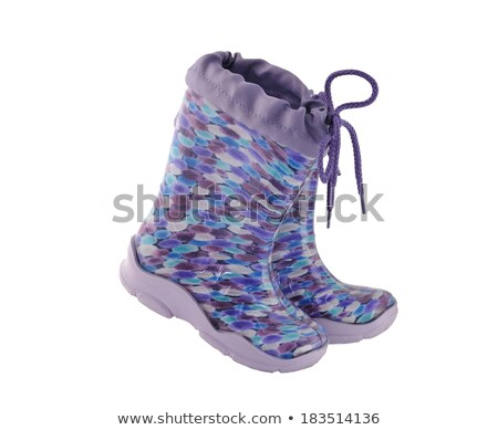 Camouflage Gum Boots Stock photo © Marfot
