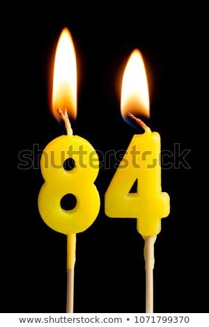 燃焼 · 番号 · 50 · 木材 · にログイン - ストックフォト © zerbor