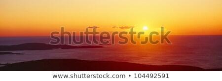 парка Панорама Мэн США природы морем Сток-фото © Bertl123