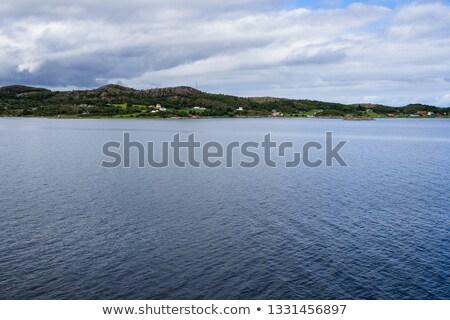 пейзаж южный Норвегия лес Европа ландшафты Сток-фото © phbcz