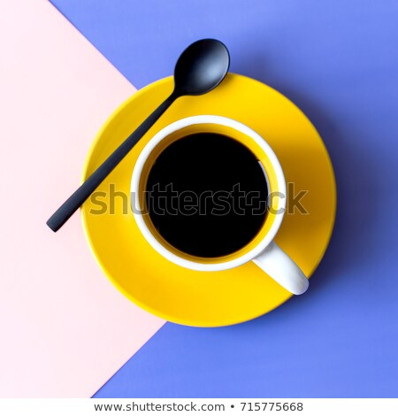Vintage color morning tea background Stock photo © Elmiko