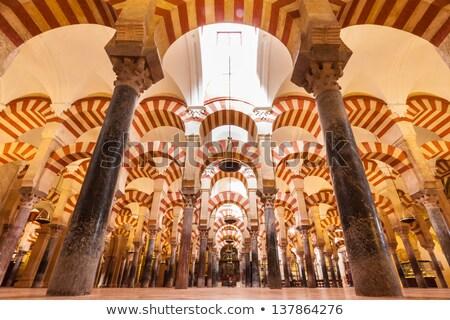 cami · görmek · batı · İspanya - stok fotoğraf © serpla