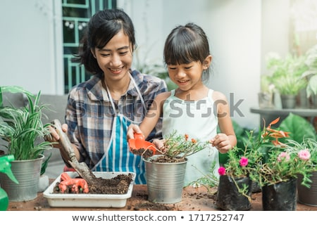 Stock photo: Home Gardening In The Spring