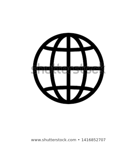 Web icon computer wereld winkelen netwerk Stockfoto © janaka