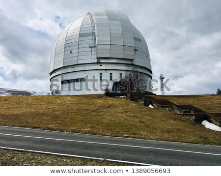 abandoned observatory Stock photo © OleksandrO