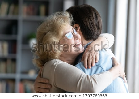 Grandma and grandsons Stock photo © vanessavr
