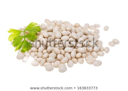 Fehér bab barna tál diéta egészséges Stock fotó © raphotos