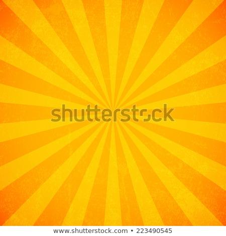 оранжевый свет луч дизайна Восход звездой Сток-фото © diabluses