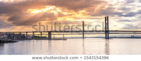 South Queensferry And The Bridges Stok fotoğraf © vichie81
