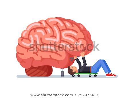 Cerebro perdido memoria médicos humanos Foto stock © Lightsource