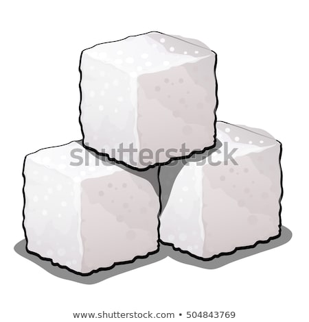 Pile Of Sugar Cubes Stock photo © Cipariss