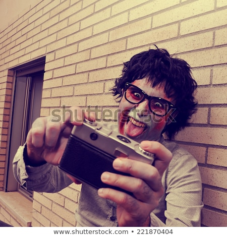 człowiek · zdjęcie · smartphone · wypoczynku - zdjęcia stock © nito