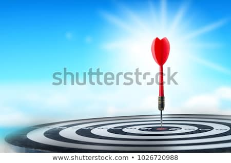Blue dart hitting the target  Stock photo © tilo