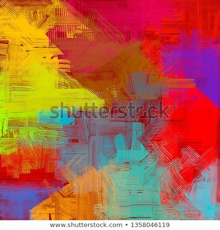 yağ · çok · pastel · boya · kalemleri · farklı · parlak - stok fotoğraf © JFJacobsz