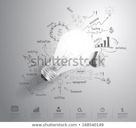 traçado · gráficos · infográficos - foto stock © davidarts