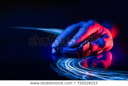 optical mouse in dark Stock photo © mikhail_ulyannik