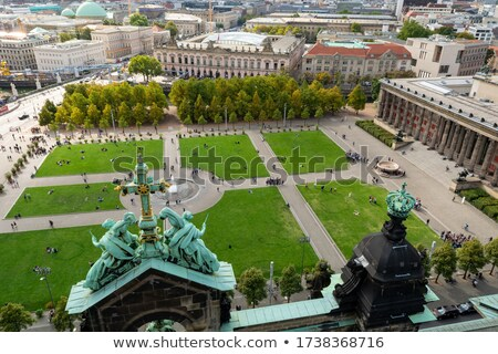 church cross berlin stock photo © joyr