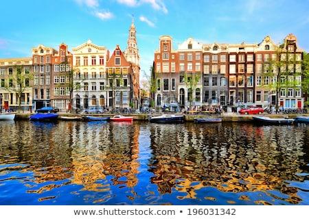教会 · アムステルダム · 通り · アーキテクチャ · オランダ - ストックフォト © phbcz