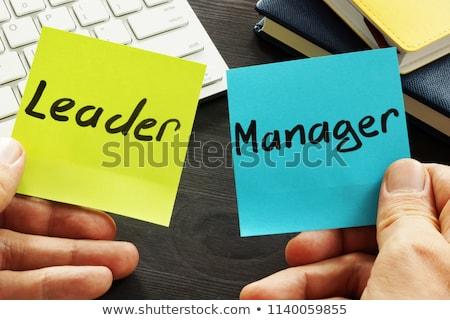 Stock fotó: Management Leadership